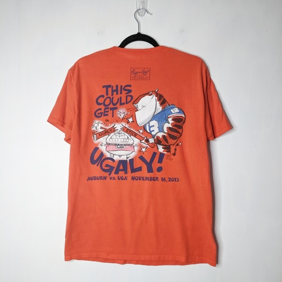 Tiger Rags Other - Auburn Tigers 2013 UGA Tiger Rags Rivalry T-Shirt